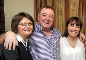 The Brosnan family from Killarney, from left, Marguerite, Gerard and Karen, who were injured in a car crash in Perth, Western Australia. Picture: Don MacMonagle