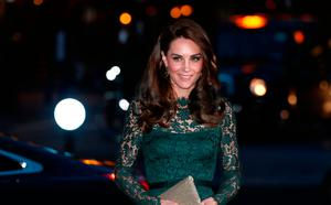 The Duchess of Cambridge arrives at the National Portrait Gallery in London for the 2017 Portrait Gala