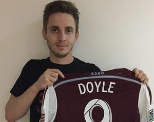 Colorado Rapids confirmed the signing of Kevin Doyle yesterday