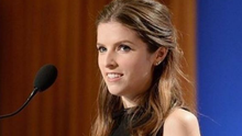 Anna Kendrick struggled with Catriona Balfe's name when announcing the Golden Globes nominations. Pic: Twitter