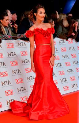 Megan McKenna attending the National Television Awards 2017 at the O2, London. PRESS ASSOCIATION Photo. Picture date: Wednesday January 25, 2017. See PA story SHOWBIZ NTAs. Photo credit should read: Matt Crossick/PA Wire
