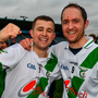 Tullaroan's Shane Walsh (left) with brother Mark. Photo: Sportsfile