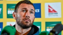 Quade Cooper believes new Australia coach Michael Cheika's local knowledge will be an advantage for the Wallabies this week. Photo: Ramsey Cardy / SPORTSFILE