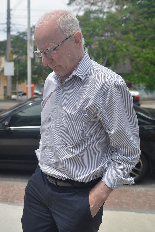 Pat Hickey pictured in Rio de Janeiro this week