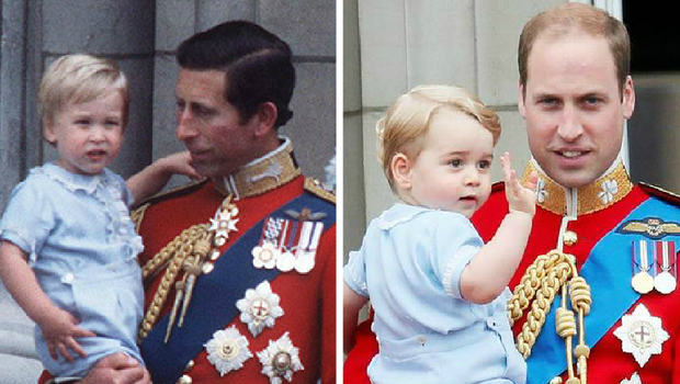1984: William and Charles / 2015: George and William