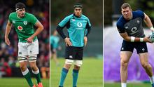 Max Deegan, Ultan Dillane and Chris Farrell