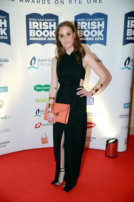 26/11/14 Louise O'Neill at the Bord Gais Energy Irish Book Awards at the Double Tree by Hilton Hotel in Dublin. Picture:Arthur Carron