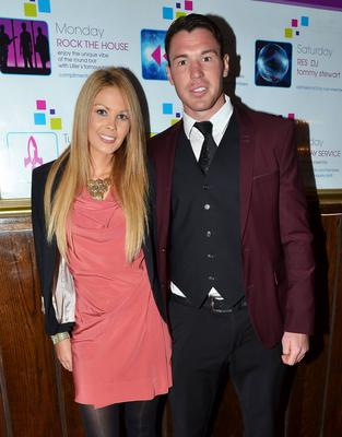 Eamon Fennell and new fiancee Fiona Creely