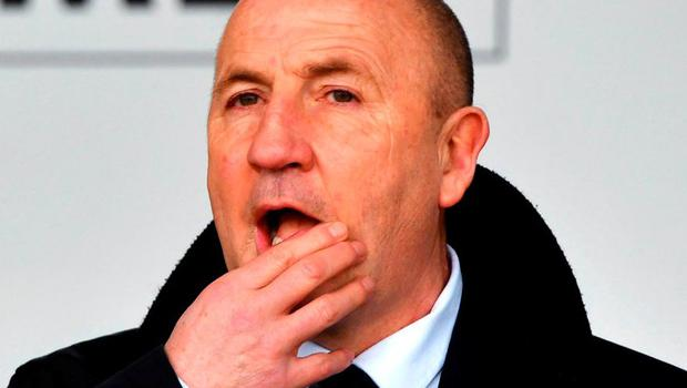 Accrington Stanley manager John Coleman. Photo: Anthony Devlin/PA Wire