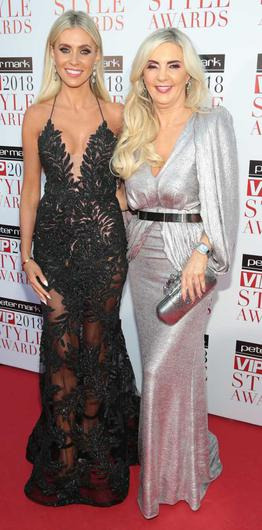 Claudine Keane and her mother, Joan Palmer Photo: Brian McEvoy