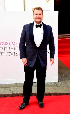 James Corden arrives for the House of Fraser British Academy of Television Awards at the Theatre Royal, Drury Lane in London. PRESS ASSOCIATION Photo. Picture date: Sunday May 10, 2015. See PA story SHOWBIZ Bafta. Photo credit should read: Ian West/PA Wire