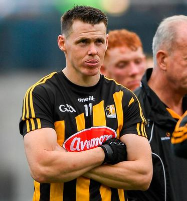 Talisman TJ Reid has been Kilkenny's go-to man but at 33, the Ballyhale dynamo is approaching the autumn of his career. Photo: Sportsfile