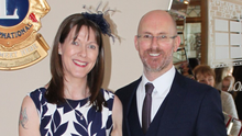 Grainne McDonald with her husband Seán