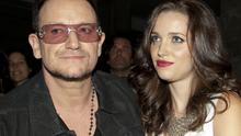 Bono and daughter Jordan Hewson