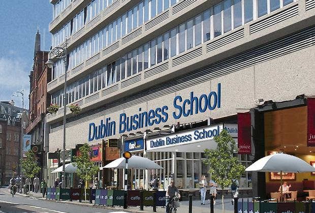 Dublin Business School specialises in business, law, psychology, computers and media