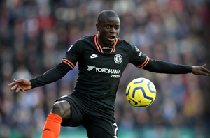 WORRIES: Chelsea's N'Golo Kante has serious health concerns