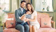 Princess Sofia and Prince Carl Philip with son Prince Alexander Erik. Picture: Erika Gerdemar/Swedish Royal Family
