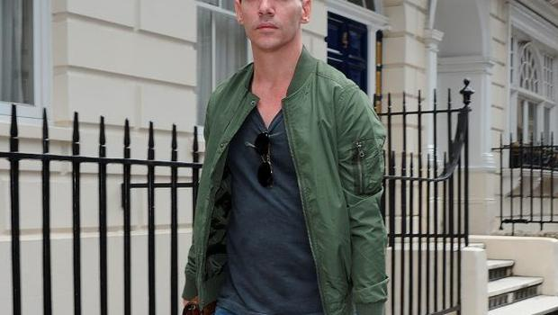 Jonathan Rhys Meyers looks healthy on a shopping trip in London. Picture: Splash News