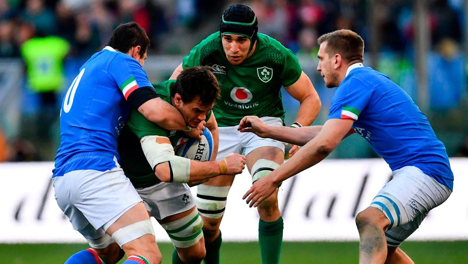 The Ireland vs Italy Six Nations clash is in doubt due to the spread of the coronavirus. Photo by Ramsey Cardy/Sportsfile