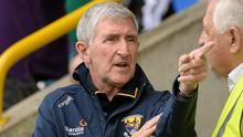 """Former Wexford hurling All-Ireland winning manager Liam Griffin would not support the """"nuclear"""" option of a strike by club players if their wishes for """"seismic"""" fixtures change are not met in the future. Photo: Sportsfile"""