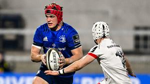 Josh van der Flier has been in top form for Leinster and Ireland this season. Photo by Ramsey Cardy/Sportsfile