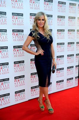 Lisa Murphy pictured at the VIP Style Awards at the Marker Hotel in Dublin. Picture:Arthur Carron