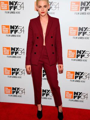 """Actress Kristen Stewart attends the """"Certain Women"""" premiere during the 54th New York Film Festival at Alice Tully Hall, Lincoln Center on October 3, 2016 in New York City.  (Photo by Dimitrios Kambouris/Getty Images)"""