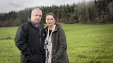 Safety message: Brian and Norma Rohan, who established a support group following the death of Brian's father, Liam, on their farm in Co Laois.