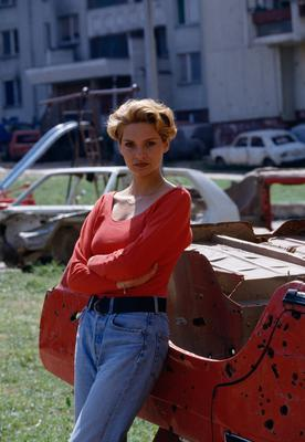 Inela Nogic was named Miss Sarajevo in 1993. Photo: Patrick ROBERT/Sygma via Getty Images