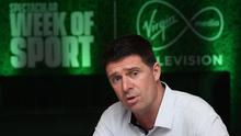 Niall Quinn says UEFA have 'implored' the FAI to resume the League of Ireland in 2020. Photo by Stephen McCarthy/Sportsfile