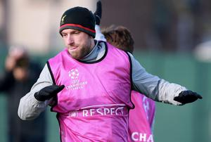 Rickie Lambert looking forward to making his first Champions League start for Liverpool