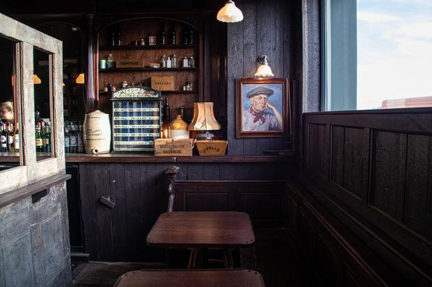There's a casual vibe in the Mayson Bar.