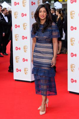 Tina Daheley attends the Virgin TV BAFTA Television Awards at The Royal Festival Hall on May 14, 2017 in London, England. (Photo by Joe Maher/Getty Images)
