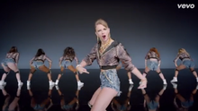 Taylor Swift in her 'Shake It Off' video, which was a major viral hit