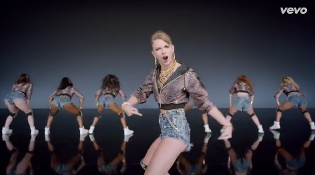Taylor Swift in 'Shake It Off'
