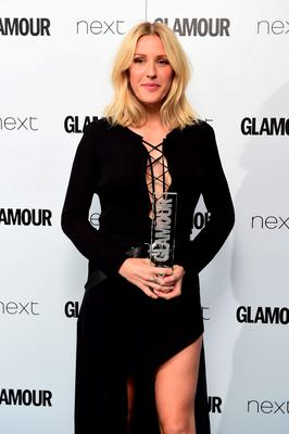 Ellie Goulding with her Cointreau Solo Artist award, at the Glamour Women of the Year Awards 2015 held at Berkeley Square Gardens, London