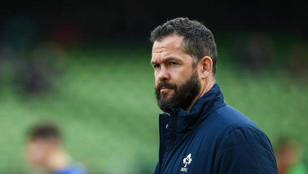 Ireland head coach Andy Farrell says there is still plenty of room for improvement after two Six Nations wins. Photo by Ramsey Cardy/Sportsfile