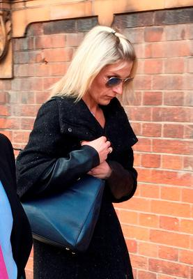 Anne Ruddock, one of five women alleged fraudster Matthew Samuels is accused of conning out of thousands of pounds, leaves Worcester Crown Court after giving evidence against the former used car salesman during his trial.Credit: Richard Vernalls/PA Wire