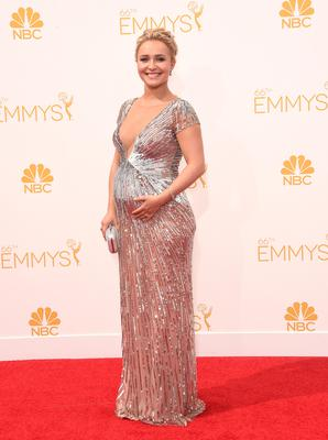 Actress Hayden Panettiere attends the 66th Annual Primetime Emmy Awards