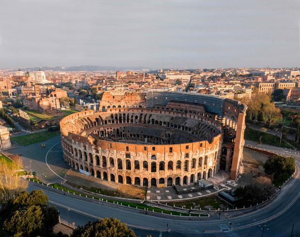 The Colosseum monument in Rome