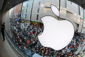 Apple said the French decision 'will cause chaos for companies across all industries'. Photo: AFP via Getty Images