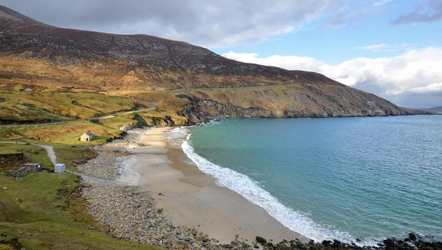 Keem Bay, Achill Island. One of the new Blueway trails.