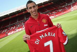 There is no secret that the winner in Angel di Maria's move to Manchester United was his agent Jorge Mendes. Photo: John Peters/Man Utd via Getty Images
