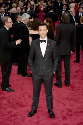 Actor Joseph Gordon-Levitt attends the Oscars held at Hollywood & Highland Center on March 2, 2014 in Hollywood, California.  (Photo by Kevork Djansezian/Getty Images)