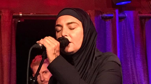 Sinead O'Connor performing in Galway last night
