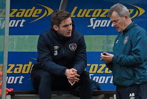 Kevin Doyle has been ruled out of the Scotland game with a groin injury. David Maher / SPORTSFILE