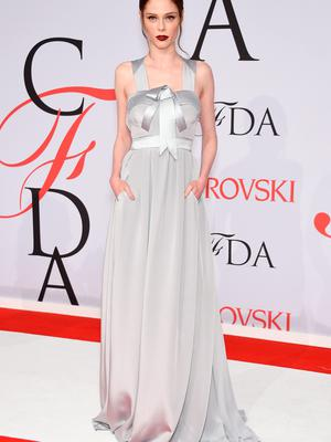 NEW YORK, NY - JUNE 01: Model Coco Rocha attends the 2015 CFDA Fashion Awards  at Alice Tully Hall at Lincoln Center on June 1, 2015 in New York City.  (Photo by Dimitrios Kambouris/Getty Images)