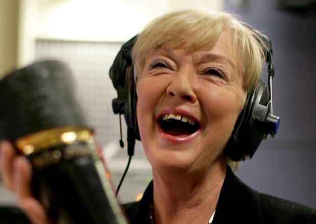 Voice of reason: Marian Finucane smiles after receiving the PPI Outstanding Achievement Award in 2008. Photo: Jason Clarke Photography