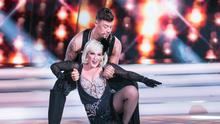 Katherine Lynch and Kai Widdrington on RTE's Dancing with the stars Picture: Kyran O'Brien