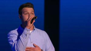 Kieran McKillop on The Voice of Ireland